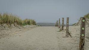 strand uitgang