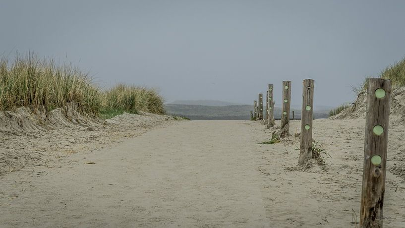 strand uitgang van Andre Klooster