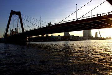 Willemsbrug, Rotterdam 2014 van Jeroen Niemeijer