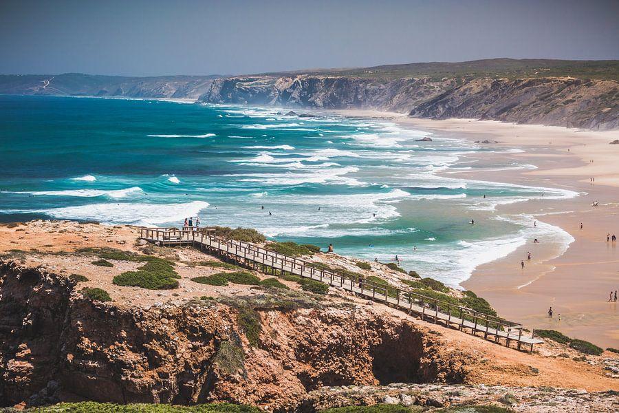 Bordeira Portugal van Andy Troy