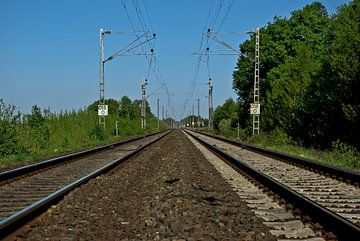 Tussen de sporen