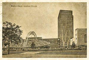 Oude ansichten: Rotterdam Blaak van