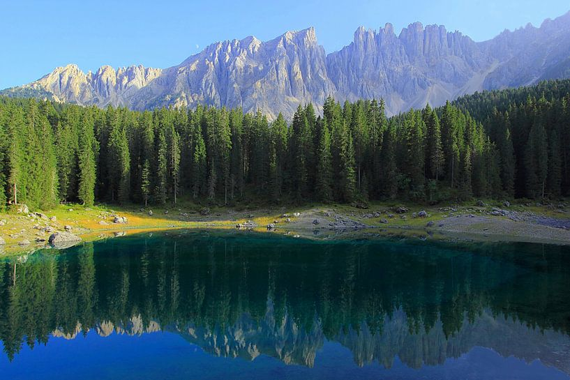 Karersee Südtirol van Patrick Lohmüller