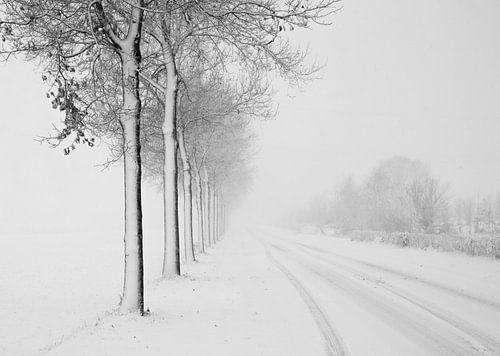 Winter in Nederland van