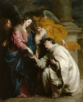 Die Vision des seligen Hermann Joseph, Antoon van Dyck