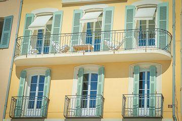 Balkon am Hafen | Architektur | St. Tropez Frankreich von Dagmar Pels