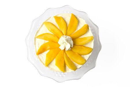 Taart met mango