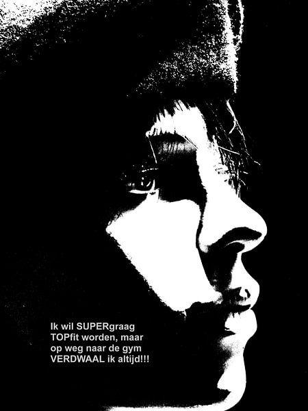Dolende Dertigers: Supergraag Topfit Worden! van MoArt (Maurice Heuts)