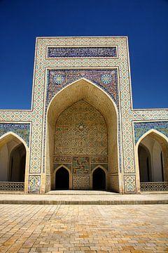 Teil der Poi Kalyan Moschee in Buchara Usbekistan von Yvonne Smits