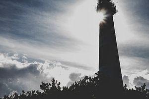 Silhouet Vuurtoren Ameland