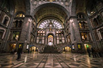 Centraal station van Antwerpen van Wim Brauns