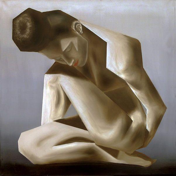 Sculpture Koen Hauser  van Jan Wiersma