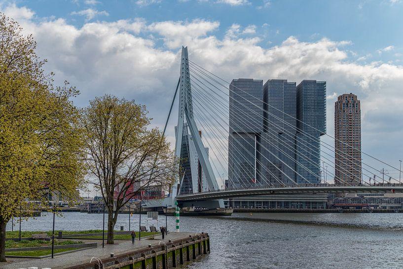 Lente in Rotterdam van Teun Ruijters