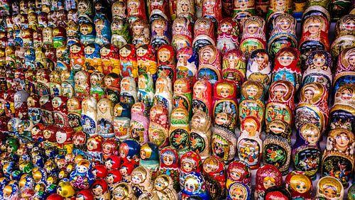 Matryoshka Dolls van