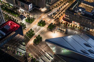 Bahnhofsplatz Rotterdam von Jeroen van Dam
