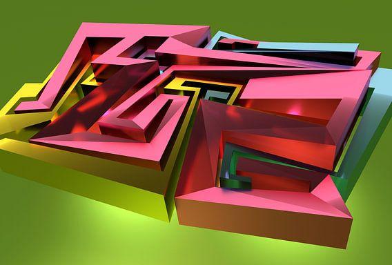 Tha Maze - Tez #1 van Pat 'Tez One' Bloom