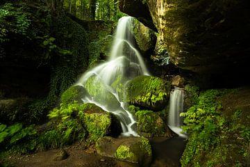 Der Lichtenhainer Wasserfall von Christian Klös