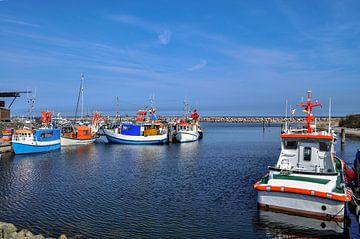 Haven in Glowe op het eiland Rügen, Schaabe van GH Foto & Artdesign