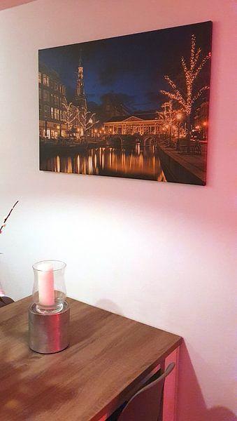 Kundenfoto: Golden light of Leiden von Erik Brons