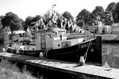 Vianen Utrecht Nationale Sleepbootdagen Zwart Wit