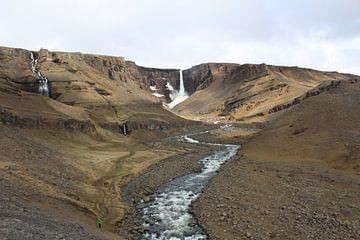 Litlanesfoss IJsland von Martin van den Berg Mandy Steehouwer