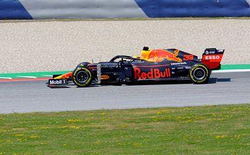 Max Verstappen en actie pendant les essais libres Autriche 2019 sur Remco Van Daalen