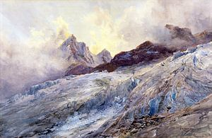 Finsteraarhorn, EDWARD THEODORE COMPTON, 1903