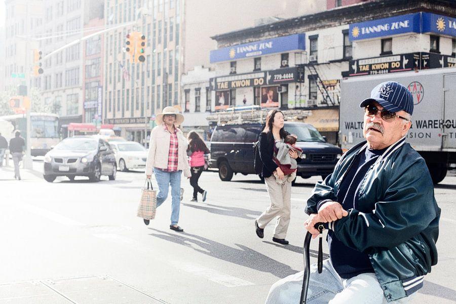 New York Street Life I