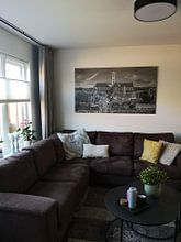 Klantfoto: Haarlem van Reinier Snijders, op canvas