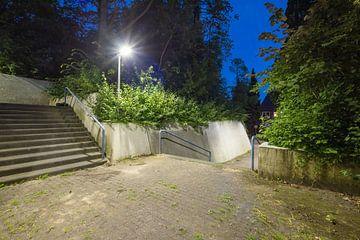 Trap in de nacht 1 van Marc Heiligenstein
