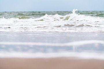 Wellen auf der Nordsee von Petra Slingenberg