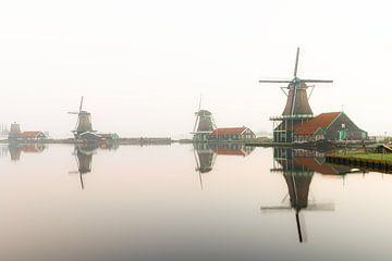 Zaanse Schans, The Netherlands van Apple Brenner