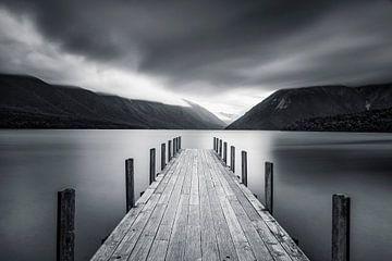 Wolken über Lake Rotoiti, Nelson Lakes National Park; Neuseeland von Markus Lange