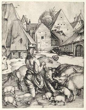 De verloren zoon, Albrecht Dürer van De Canon