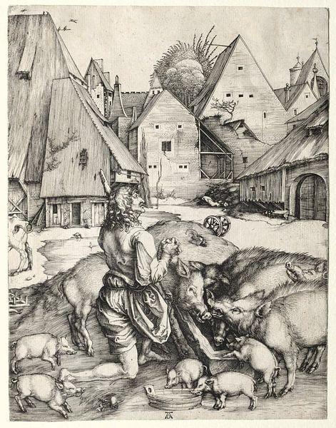 Der verlorene Sohn, Albrecht Dürer von De Canon