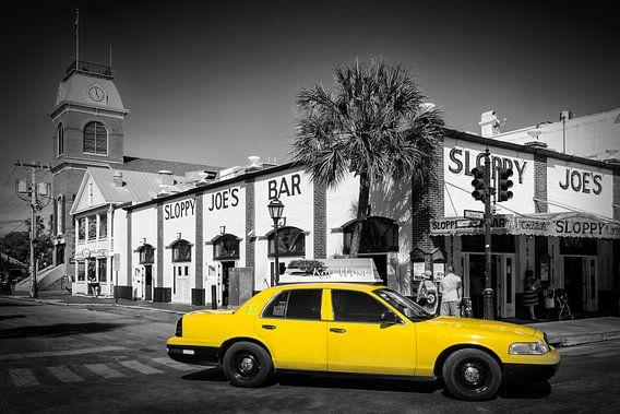 KEY WEST Sloppy Joe´s Bar | Street Scene van Melanie Viola