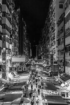 Mongkok Night Market, Hong Kong van Marcel Samson
