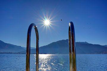 Schwimmen am Tegernsee von Roith Fotografie