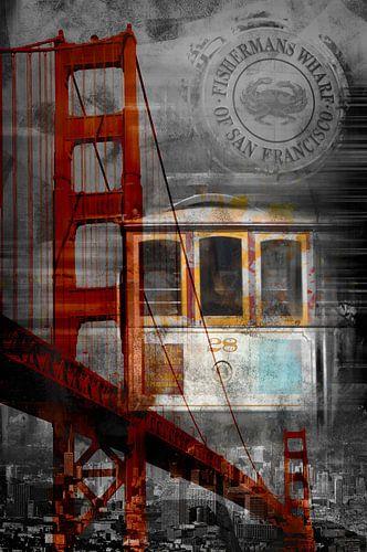 City-Art SAN FRANCISCO Collage II