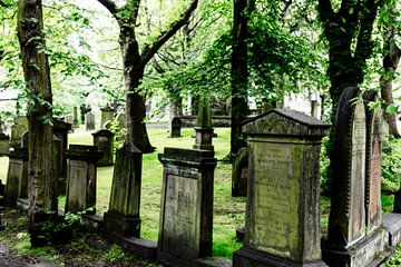 alte Grabsteine in Edinburgh von Jürgen Wiesler