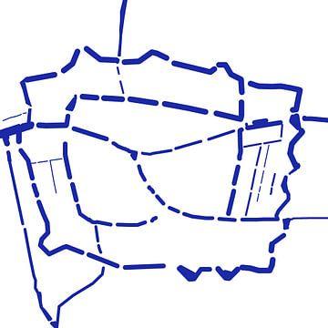 Waterkaart Leiden