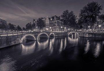 Amsterdam in zwart wit von Annemarie Welp