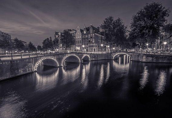 Amsterdam in zwart wit van Annemarie Welp