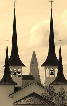 churches in reykjavik von Gerwin Hulshof