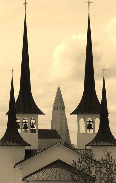 churches in reykjavik van Gerwin Hulshof