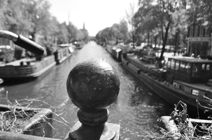 Amsterdamse gracht van Petra Amsterdam