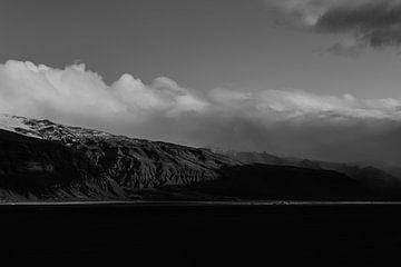 Island - schwarz und weiß von Jan-Hessel Boermans