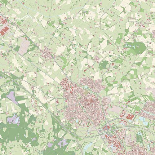 Kaart vanBorne