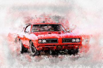 Pontiac GTO - The Judge von Theodor Decker