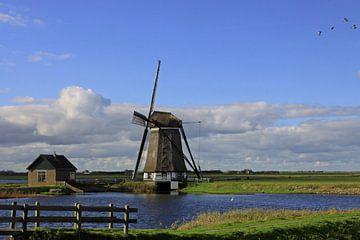 Molen 't Noorden op Texel sur Antwan Janssen